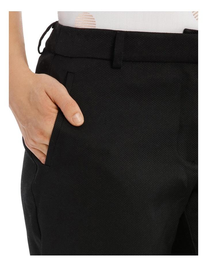 Elastic Waist Back Texture Pant image 4