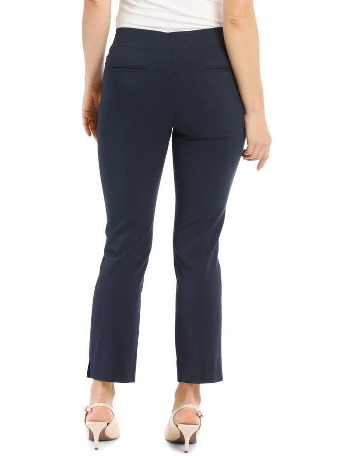 Essential Stretch Crop Pant - Navy image 3