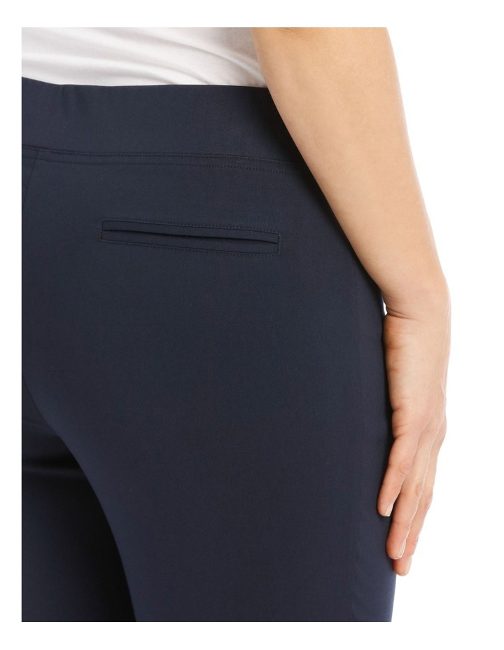 Essential Stretch Crop Pant - Navy image 4