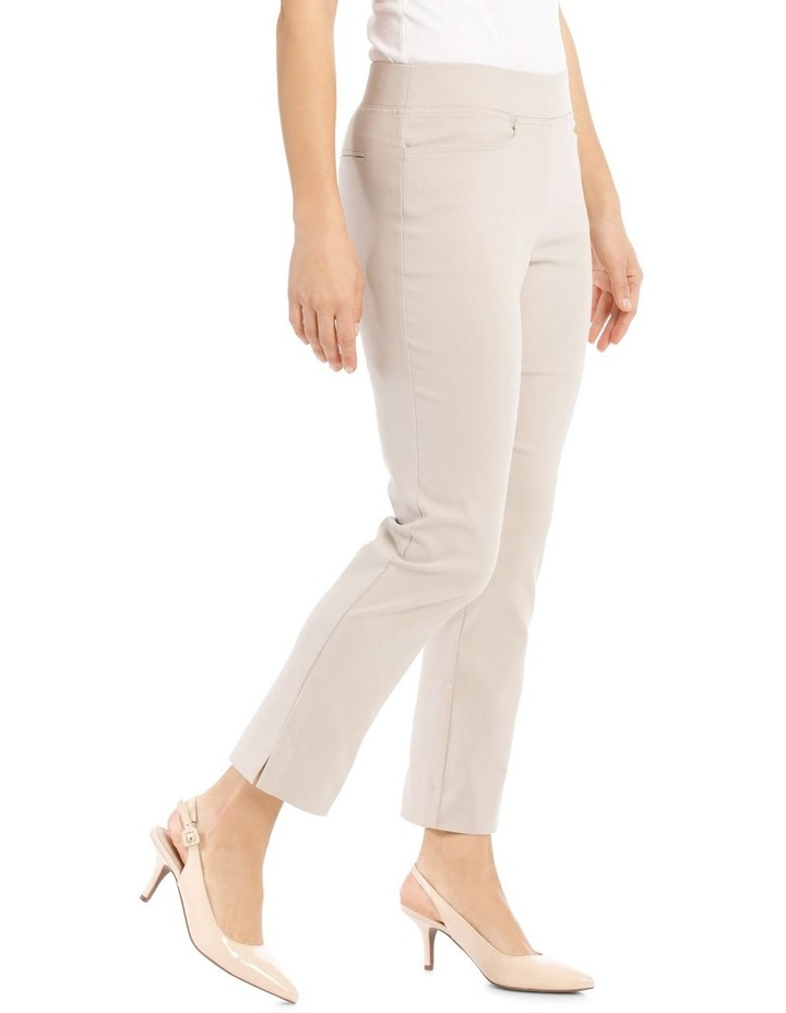 Essential Stretch Crop Pant-Stone image 2