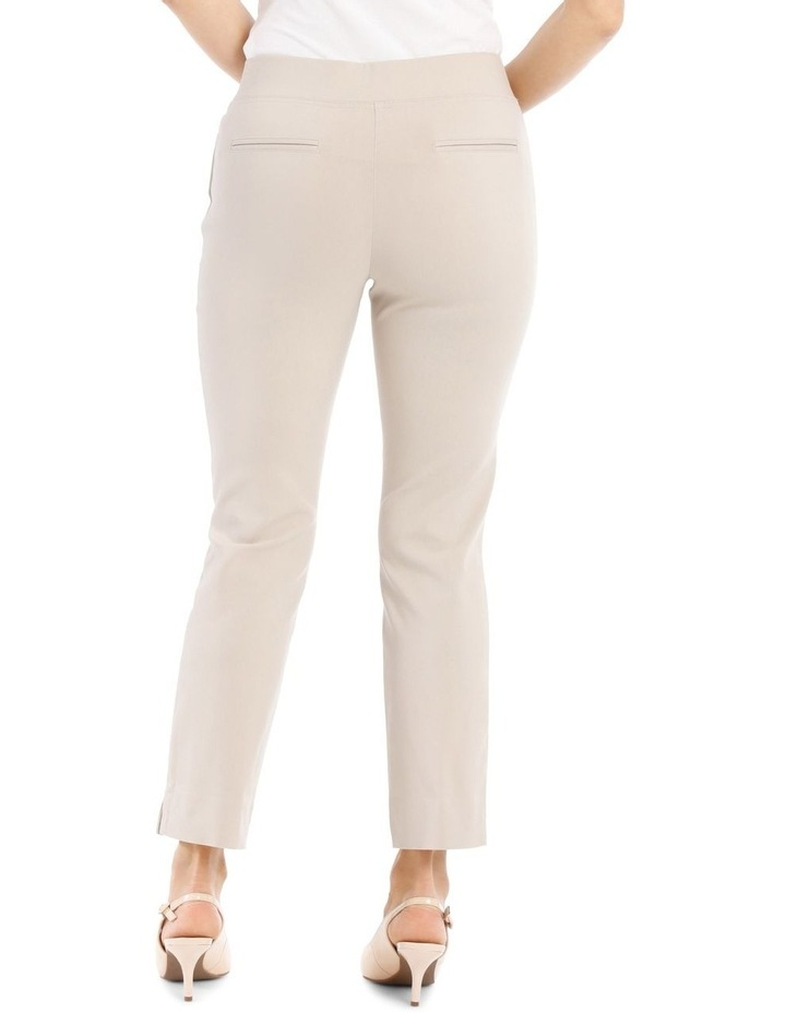 Essential Stretch Crop Pant-Stone image 3