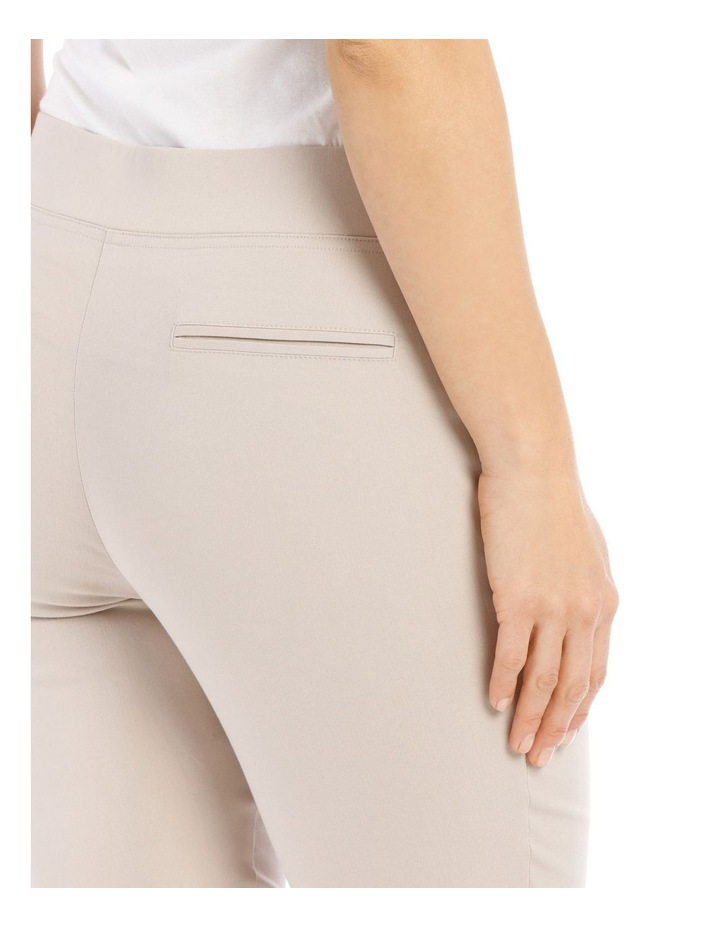Essential Stretch Crop Pant-Stone image 4