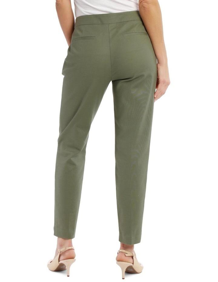 7/8 Stretch Cotton Pant-Khaki image 3