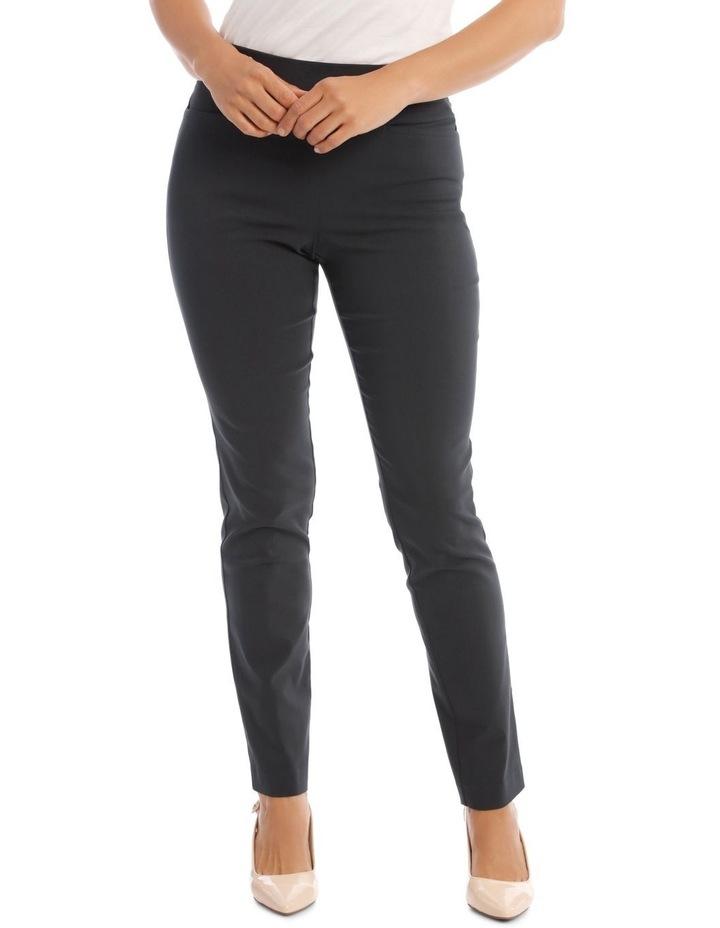 Essential Slim Full-Length Pant in Charcoal image 1