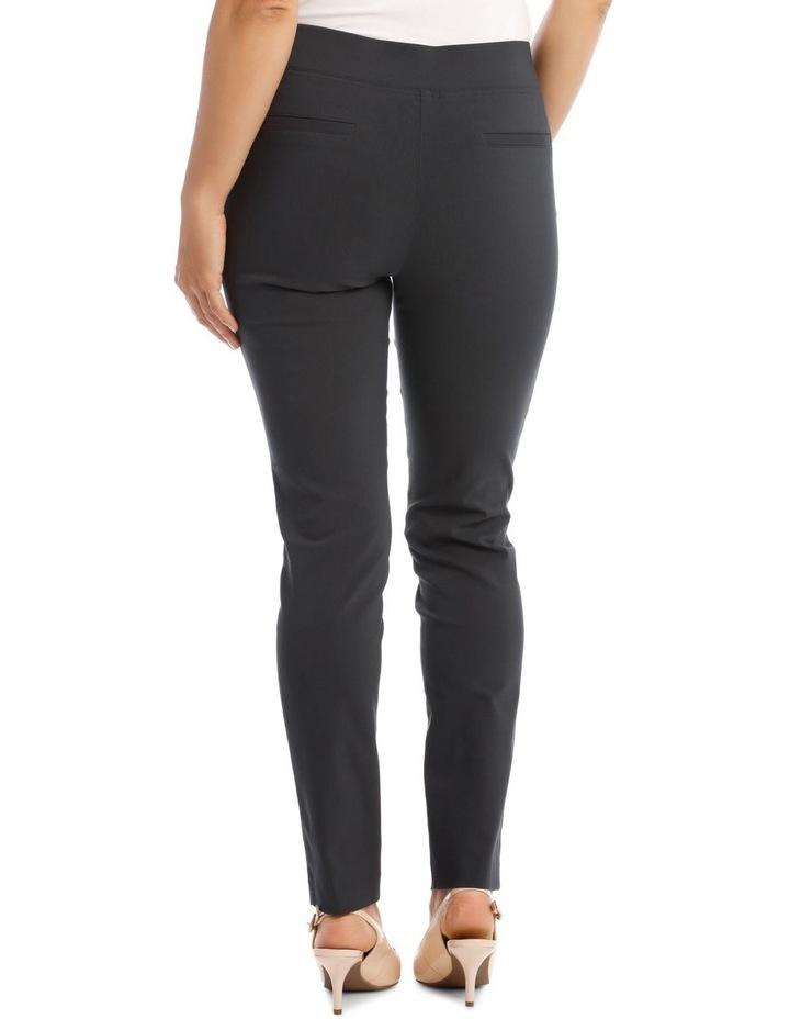 Essential Slim Full-Length Pant in Charcoal image 3