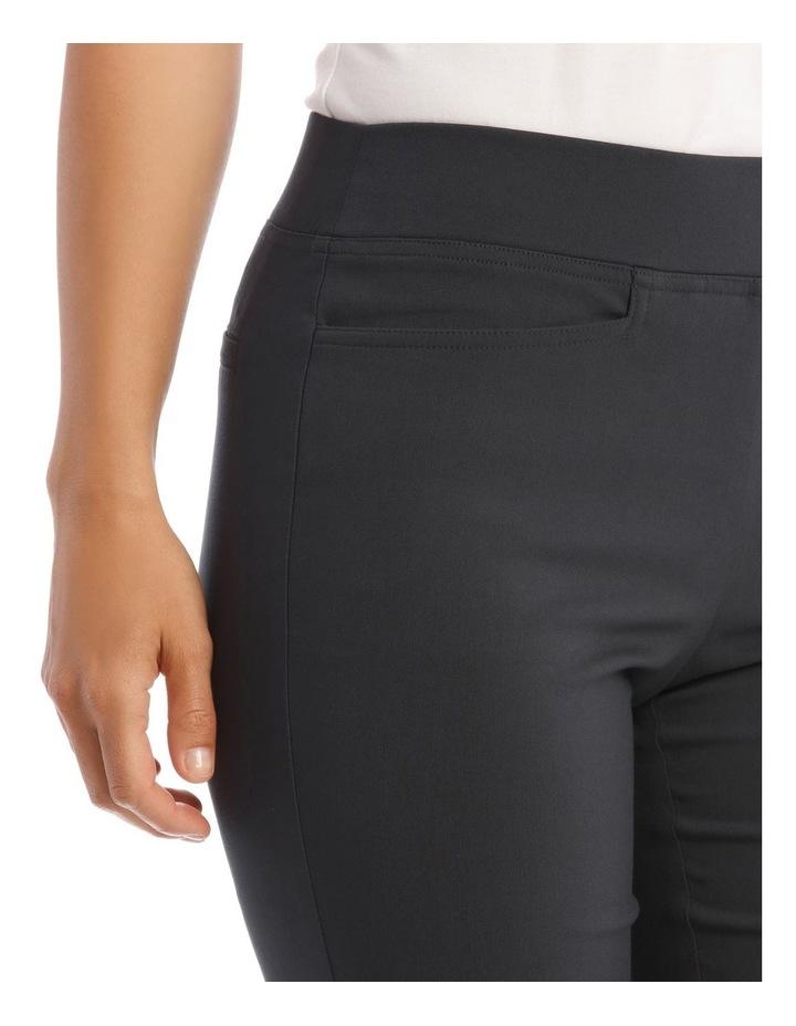 Essential Slim Full-Length Pant in Charcoal image 4