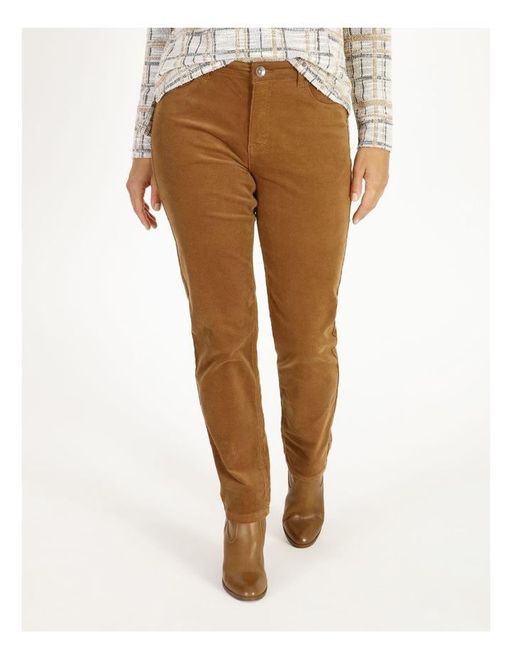 Burnished 5 Pocket Full Length Cord Pant image 1