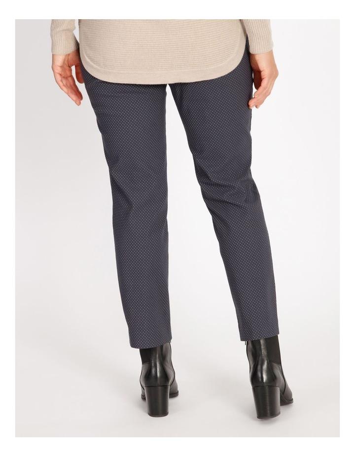 Ochre Dawn Textured Spot Bengaline Slim Pant image 3