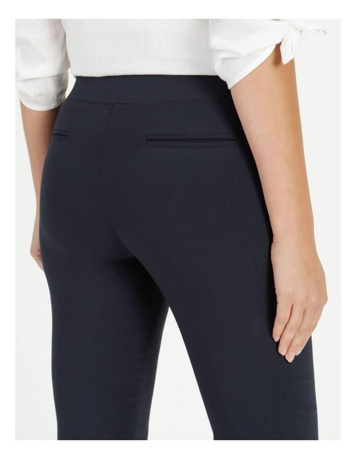 Essential Stretch Dark Navy Crop Pants image 6