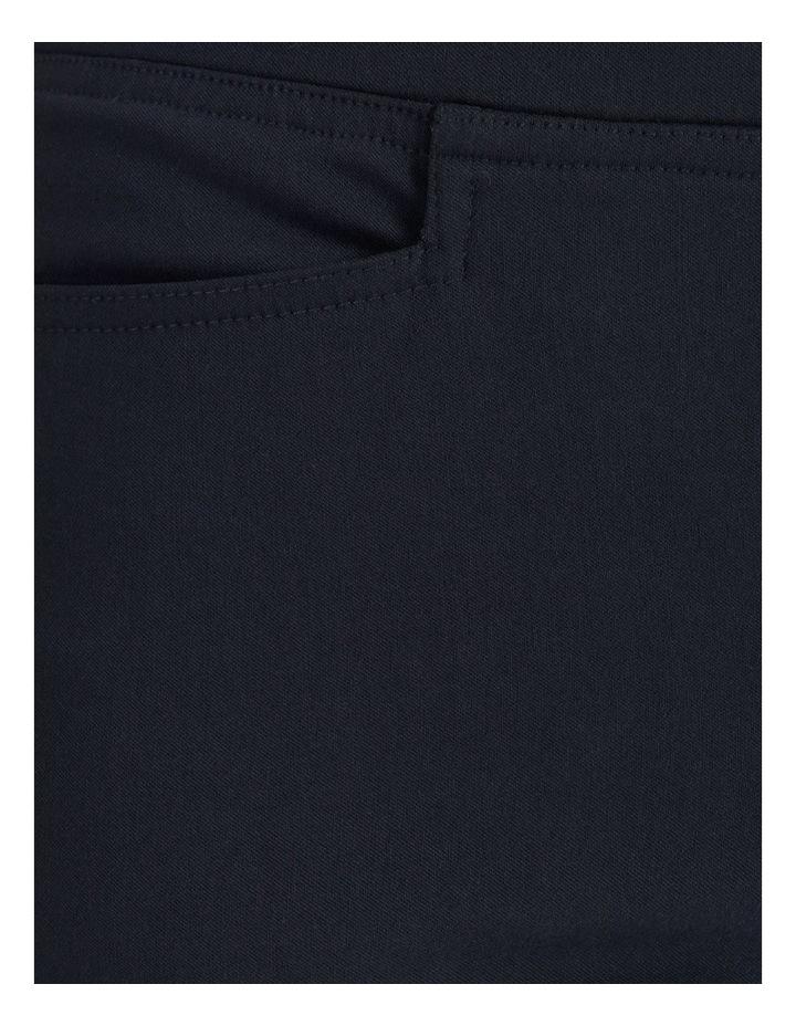 Essential Stretch Dark Navy Crop Pants image 7