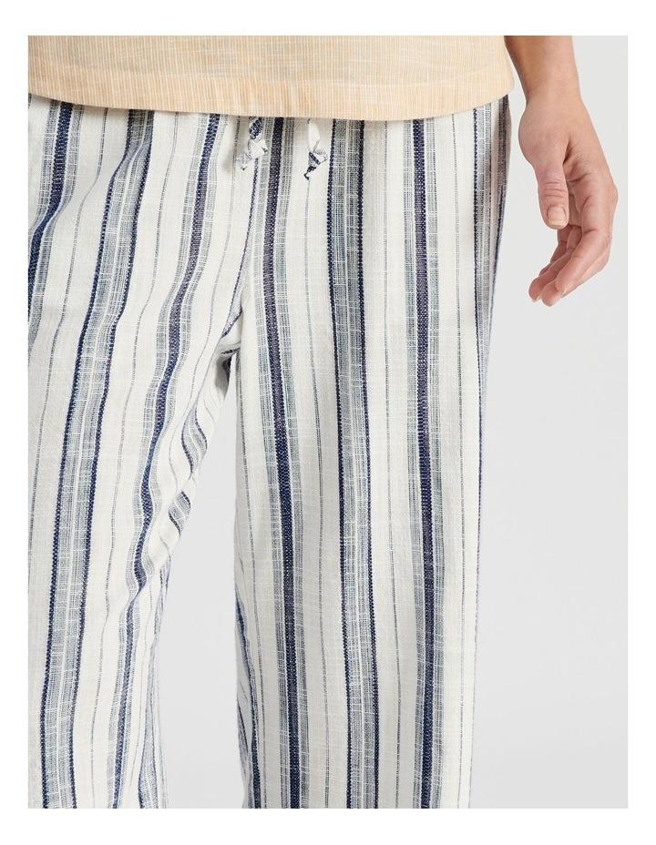 Elastic Waist Pant With Tie Waist image 6