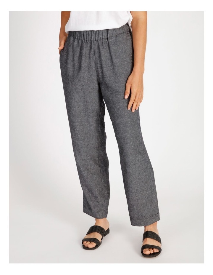 Etched Paperbag Waist Pant image 1