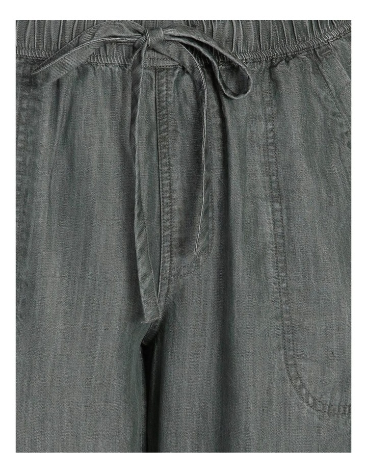 Elastic Waist Pant With Side Panels And Cuff image 5