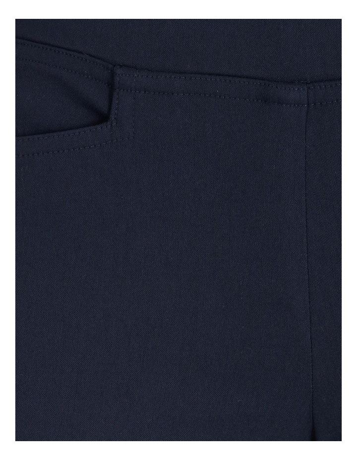 Wardrobe Staple Straight Full Length Pant in French Navy image 5