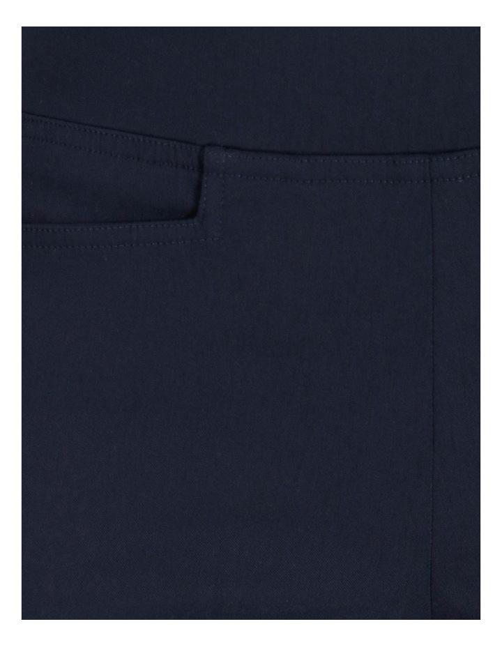 Wardrobe Staple Slim Full Length Pant in French Navy image 5