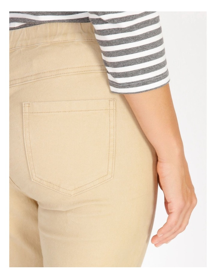Elastic Waist Pant With Front & Back Pockets image 4