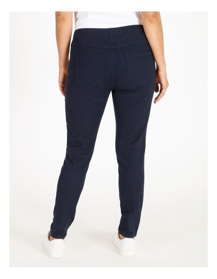 Elastic Waist Pant With Front & Back Pockets image 3