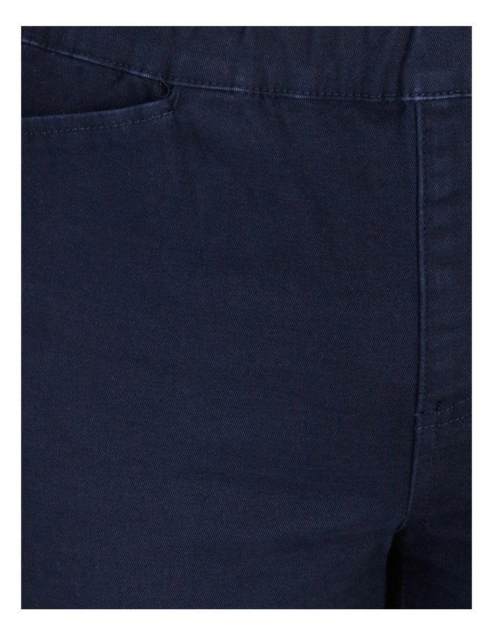 Elastic Waist Pant With Front & Back Pockets image 5