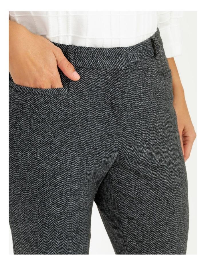 Kindled Slim Leg Herringbone Pant image 5