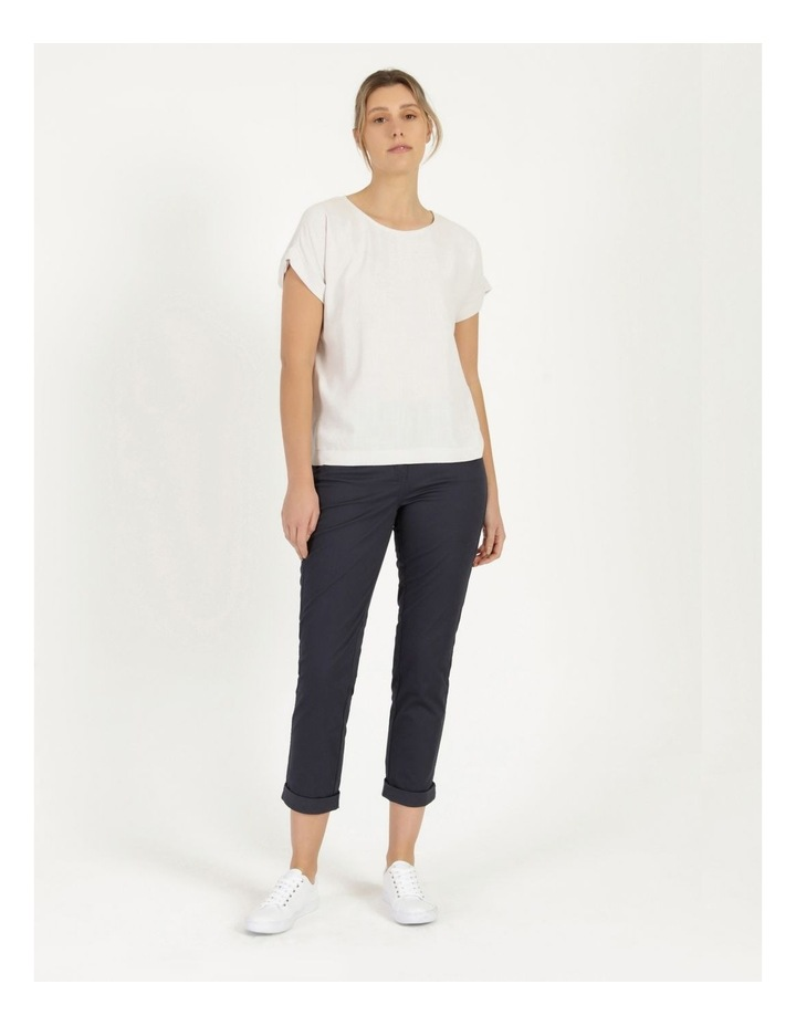 Rolled Cuff Chino Pants Navy image 1