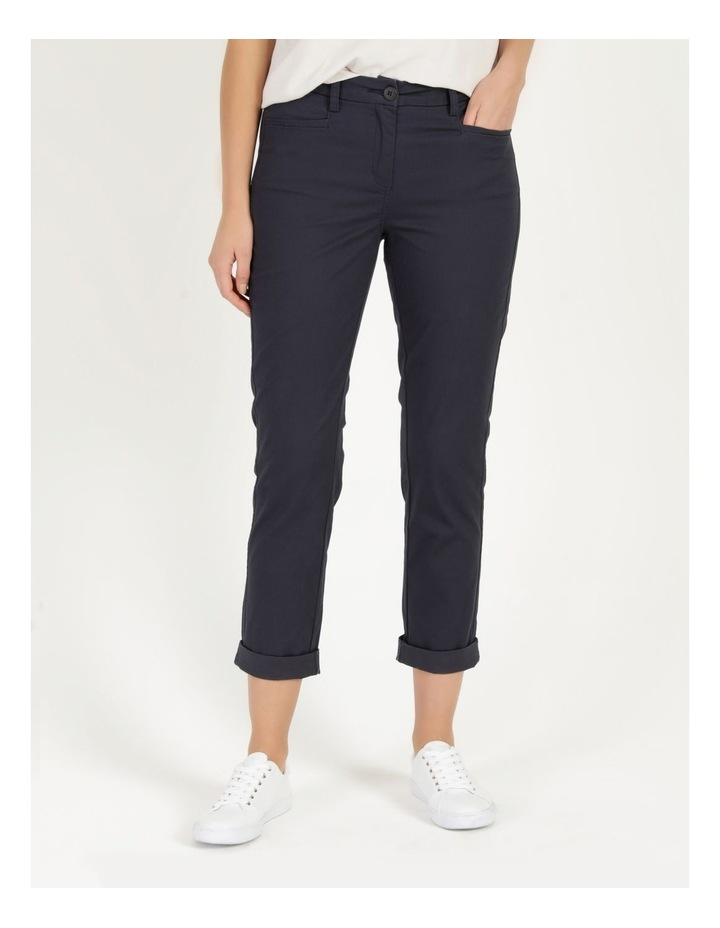 Rolled Cuff Chino Pants Navy image 2