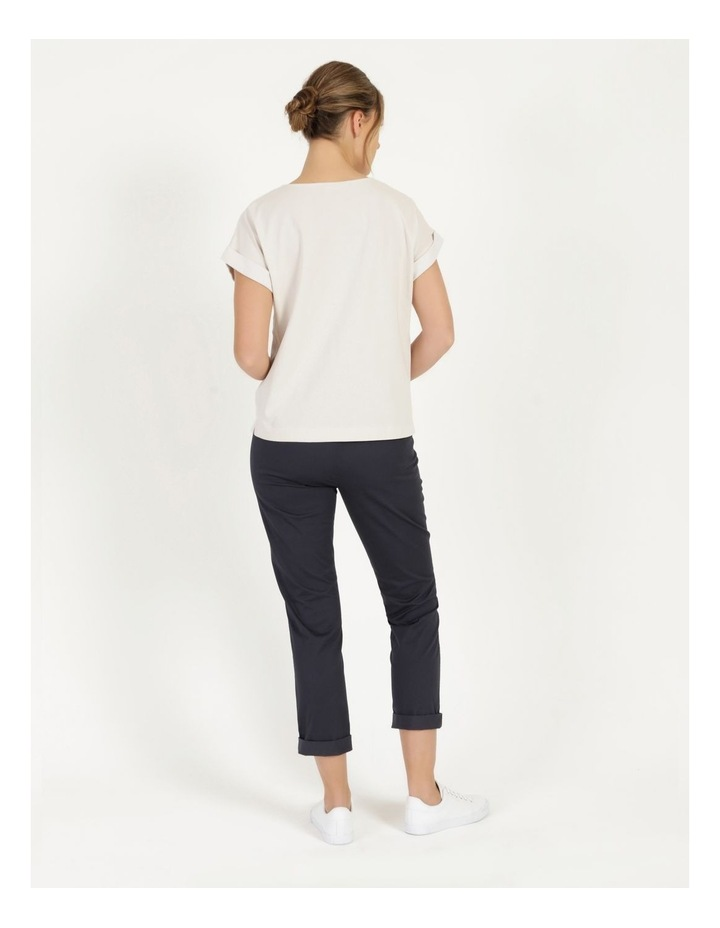 Rolled Cuff Chino Pants Navy image 4