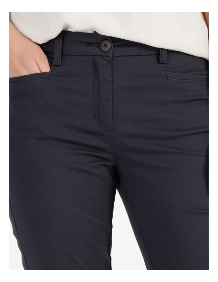 Rolled Cuff Chino Pants Navy image 6