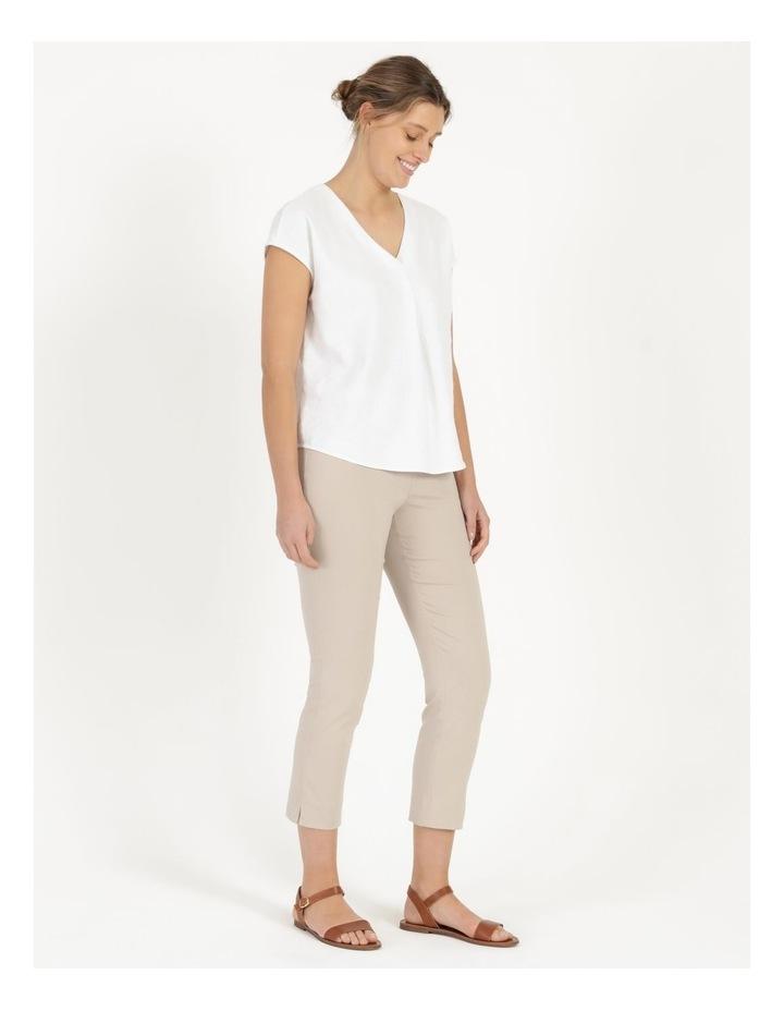 Wardrobe Staple Stretch Crop Pant Mid Stone image 1