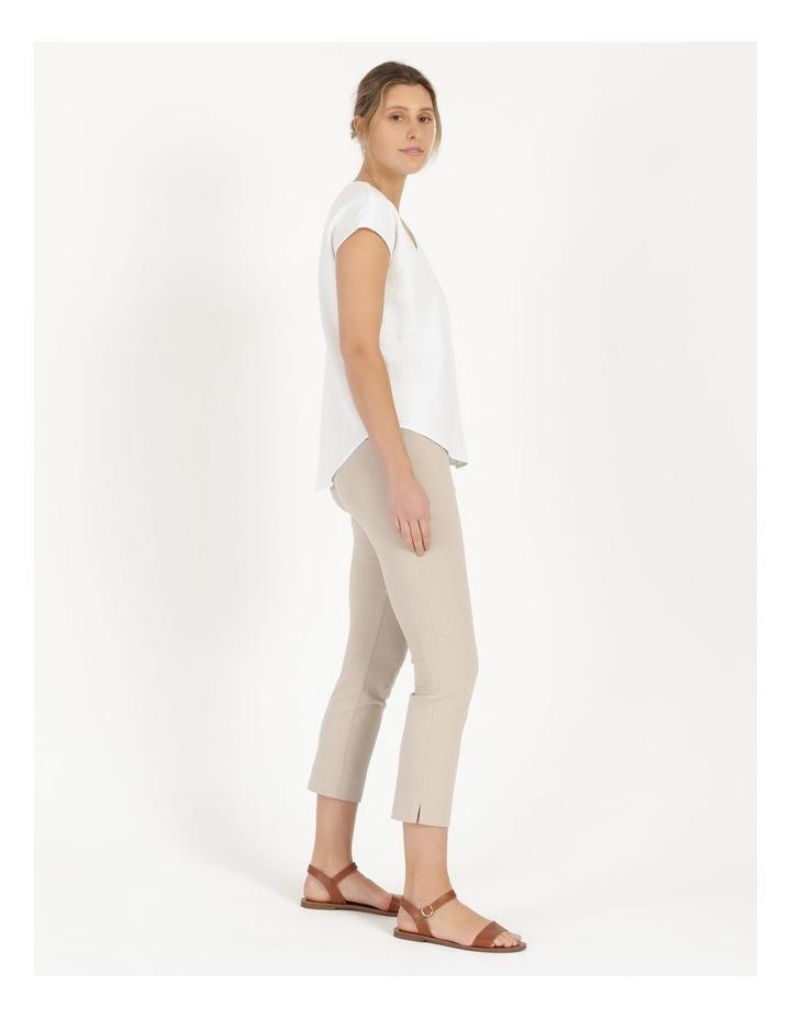 Wardrobe Staple Stretch Crop Pant Mid Stone image 2