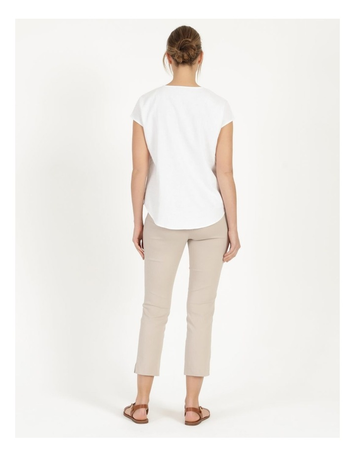 Wardrobe Staple Stretch Crop Pant Mid Stone image 5