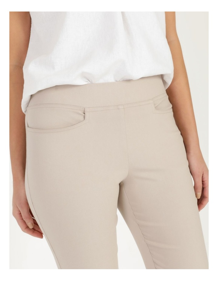 Wardrobe Staple Stretch Crop Pant Mid Stone image 6