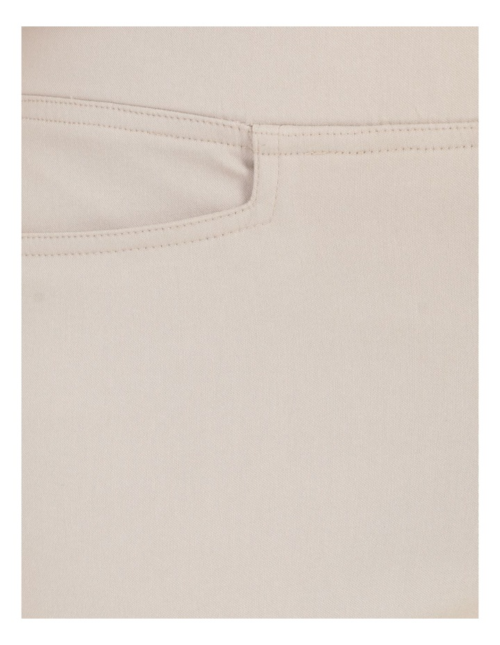 Wardrobe Staple Stretch Crop Pant Mid Stone image 7