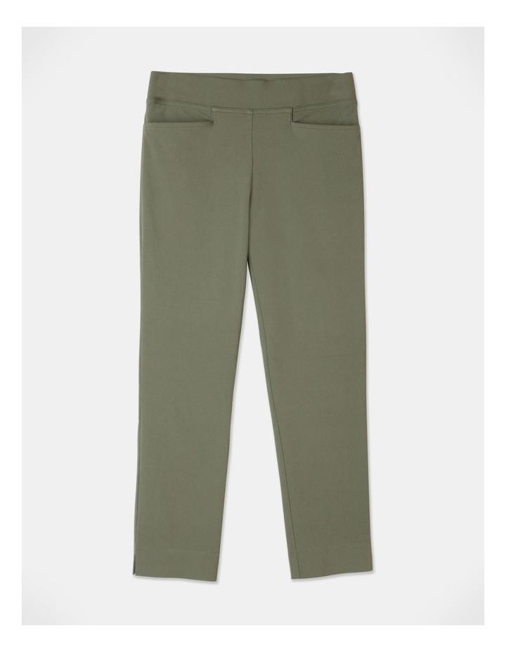 Wardrobe Staple Stretch Crop Pant Khaki image 1