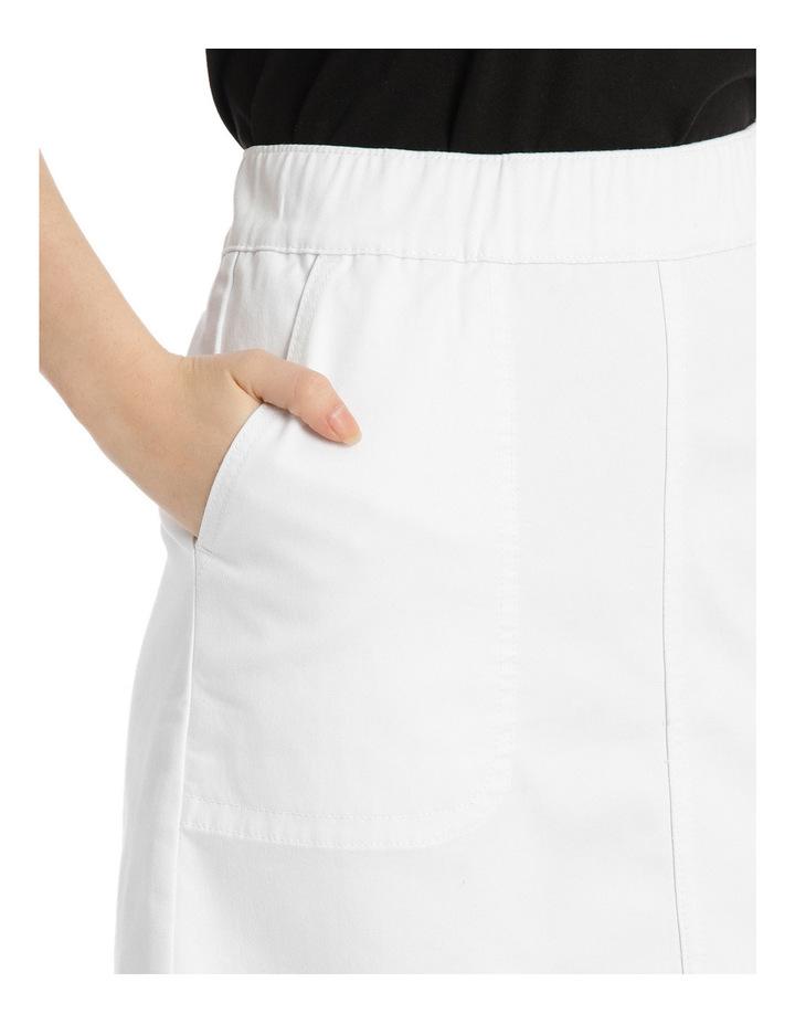 Pull On Denim Skirt image 4