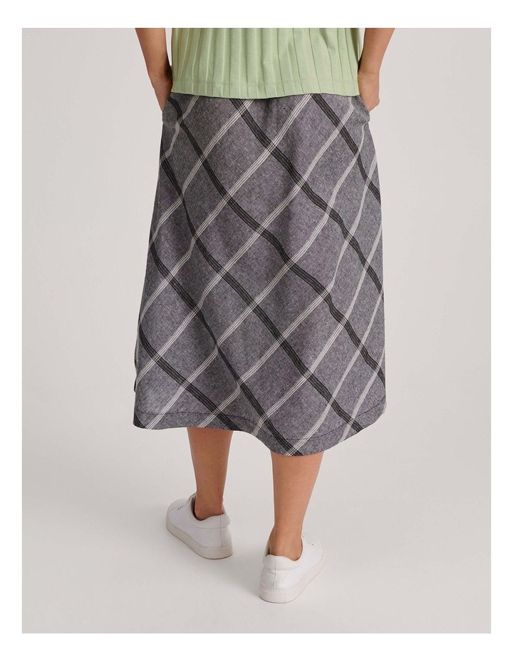 Flared Skirt With Back Elastic And Pockets image 4