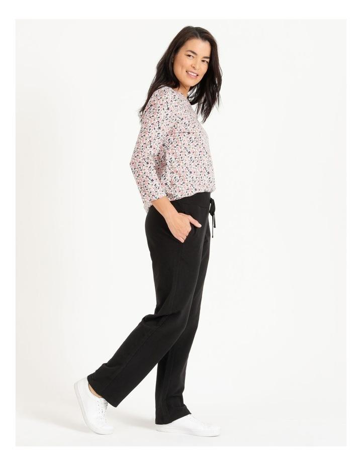 Leisure Rib Waist Straight Leg Trackpant image 2