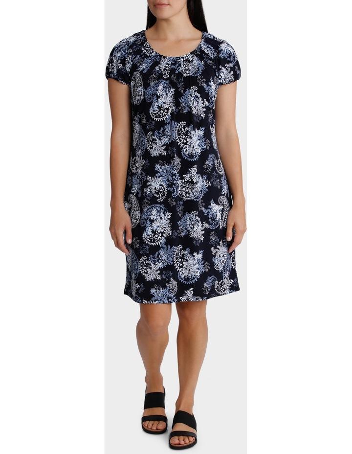 Printed Grace Short Sleeve Dress image 1