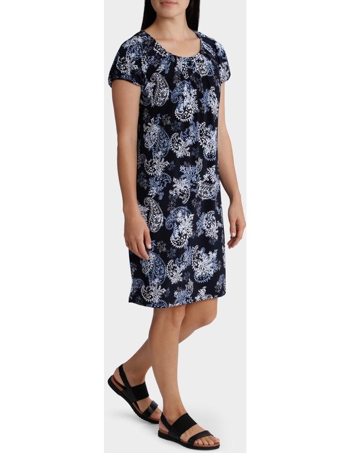 Printed Grace Short Sleeve Dress image 2