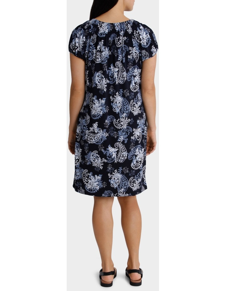 Printed Grace Short Sleeve Dress image 3
