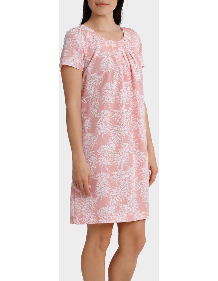 Soft Floral Viscose Short Sleeve Dress image 2
