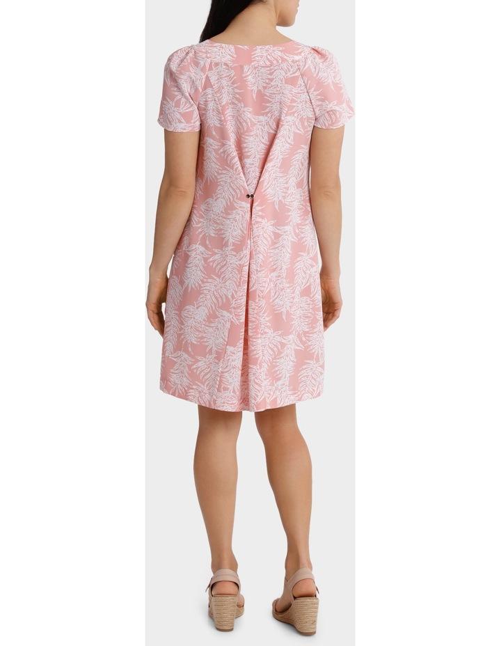 Soft Floral Viscose Short Sleeve Dress image 3