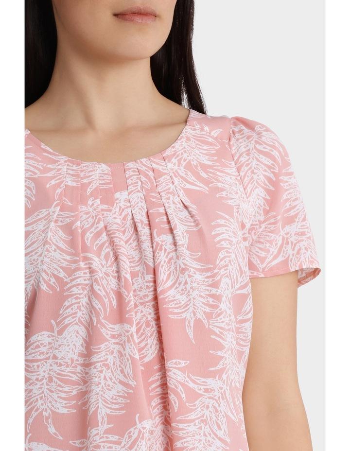 Soft Floral Viscose Short Sleeve Dress image 4
