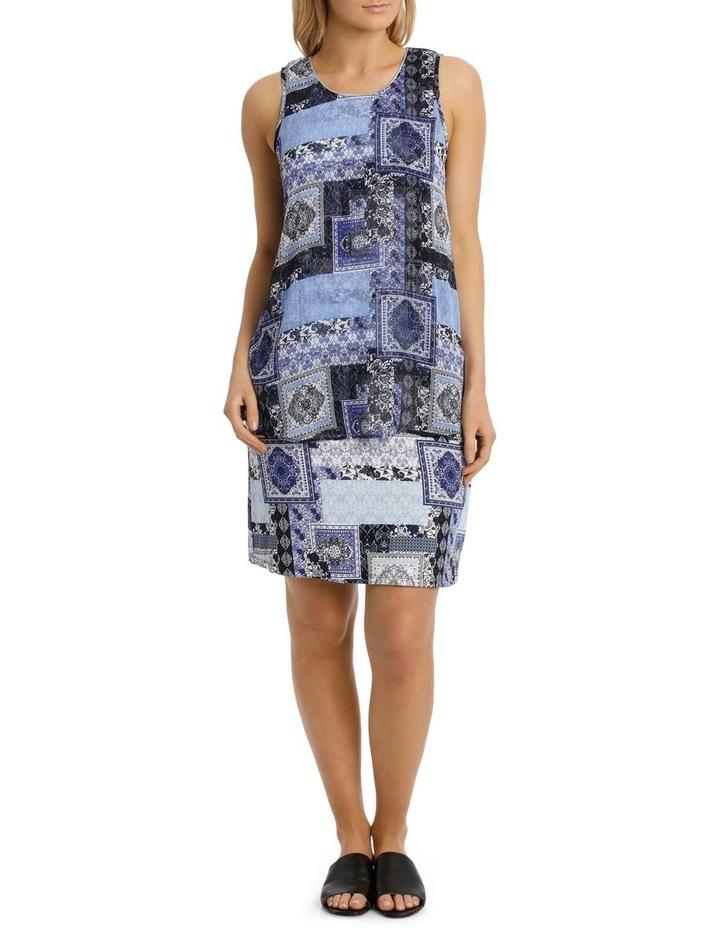 Aegean Twist Sleeveless Dress image 1