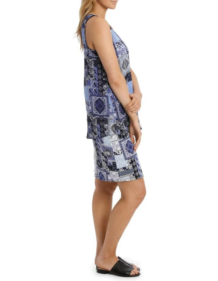 Aegean Twist Sleeveless Dress image 2