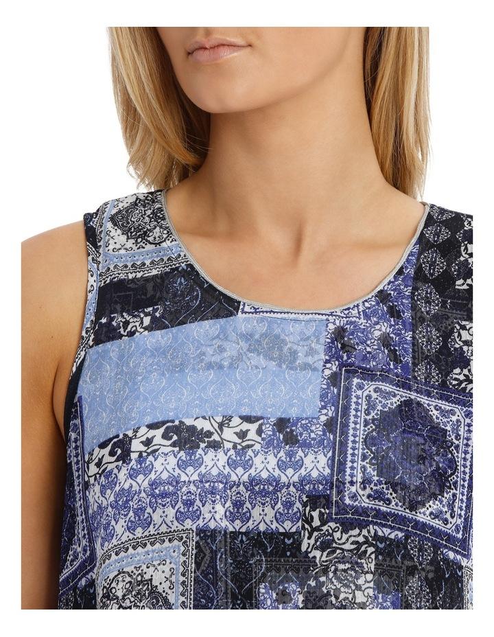 Aegean Twist Sleeveless Dress image 4