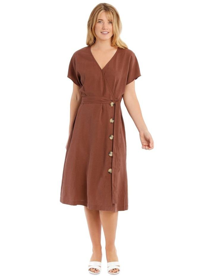 Magyar Sleeve Wrap Dress image 1