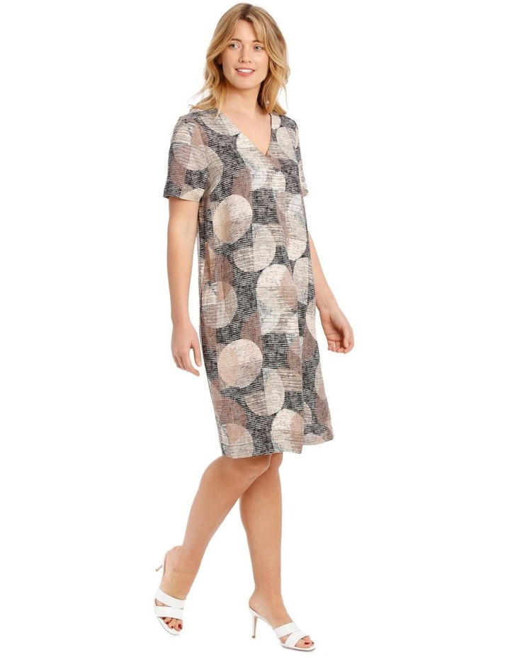 Short Sleeve Dress With V-Neck image 2