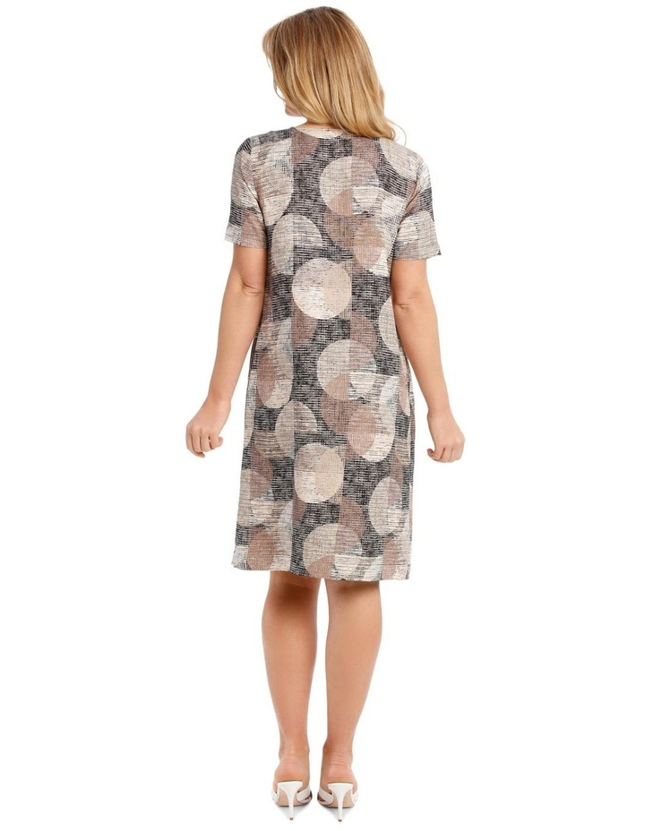 Short Sleeve Dress With V-Neck image 3