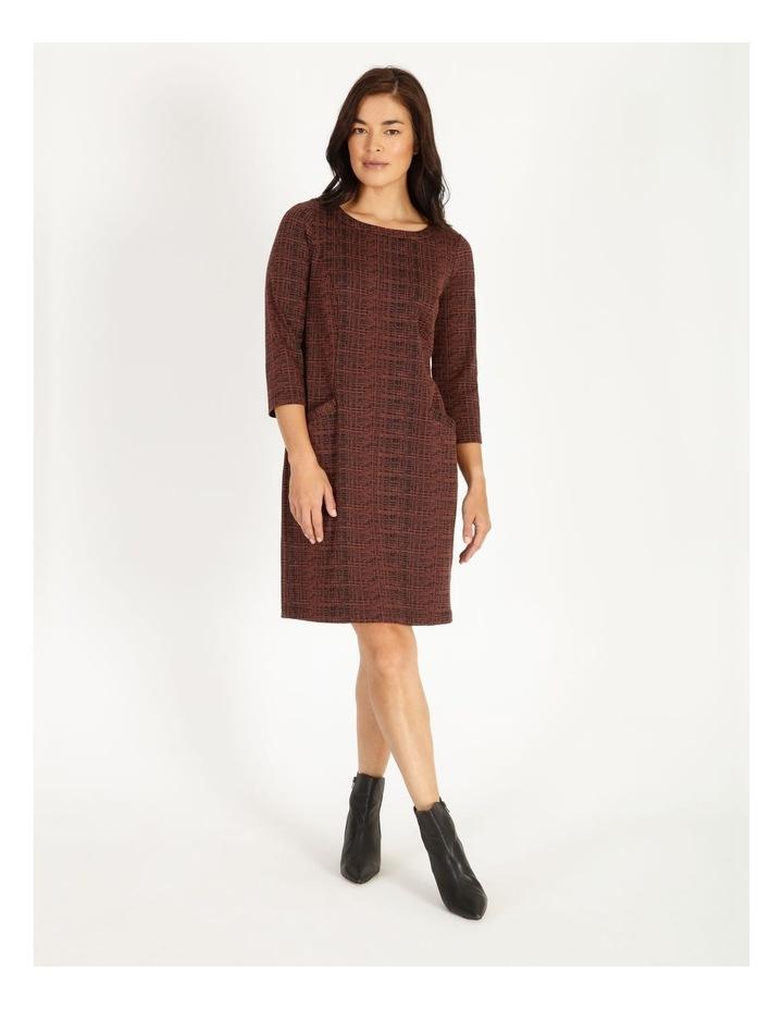 Kindled Princess Seam Knit Dress With Pockets image 1