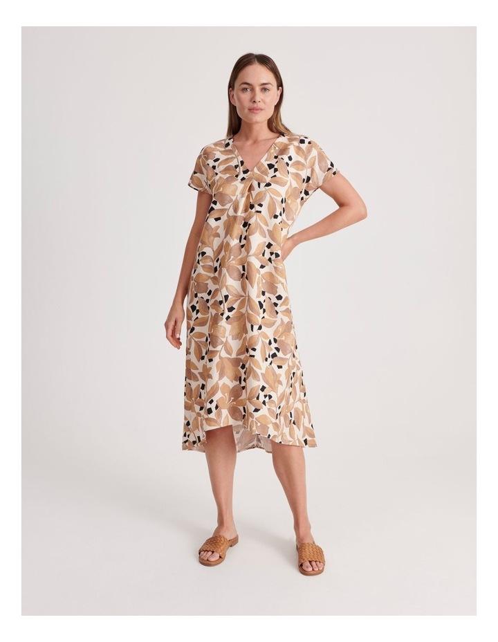 V-Neck Short Sleeve Dress image 1
